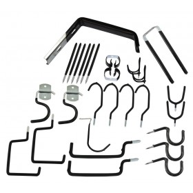 Rolson 30pc Home and Garage Hook Set