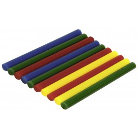 Rolson 10pc Coloured Glue Stcks