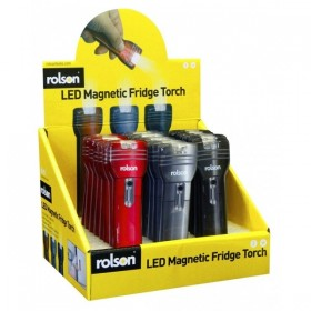 Rolson LED Magnetic Fridge Torch