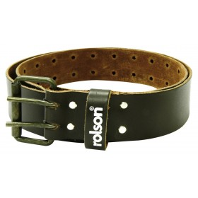 Rolson Top Grain Leather Belt with Two Pin Buckle