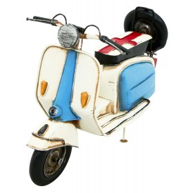 Kreatif Kraft Lambretta Style Scooter Hand Painted