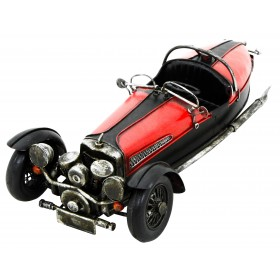 Kreatif Kraft Three Wheeler Car Hand Painted Model