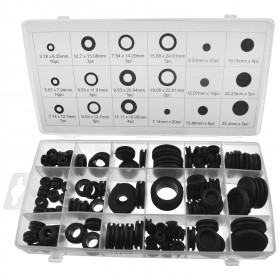 Toolzone 125pc Rubber Grommet Set