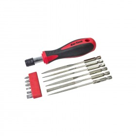 Am-Tech 7pc Diamond File Set Plus Bits