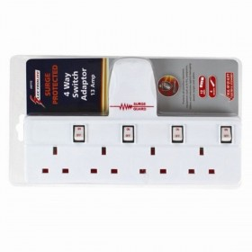 Electrolite 4 Way Switch Adaptor Surge Protected