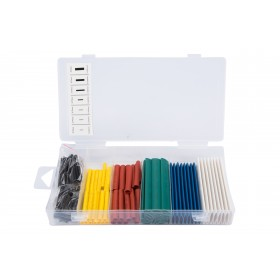 127Pc Multicolour Heat Shrink Wire Wrap