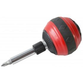 Am-Tech Ball Grip Ratchet Screwdriver