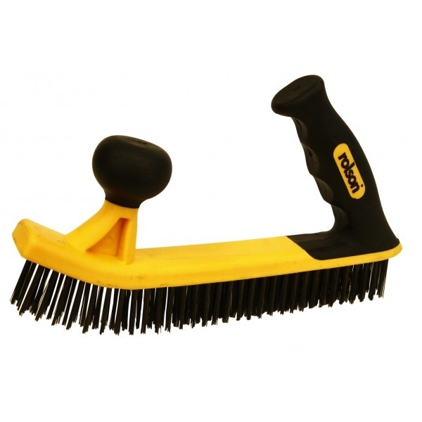 Rolson Heavy Duty Two Handed Wire Brush