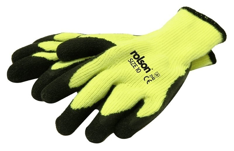 Rolson Thermal Latex Work Gloves