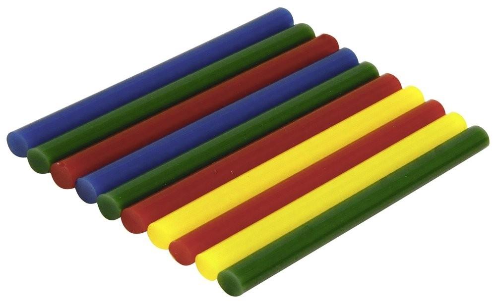 Rolson 10pc Coloured Glue Stcks