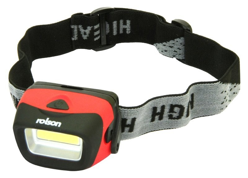 Rolson 3W Z5 COB Head Lamp Square